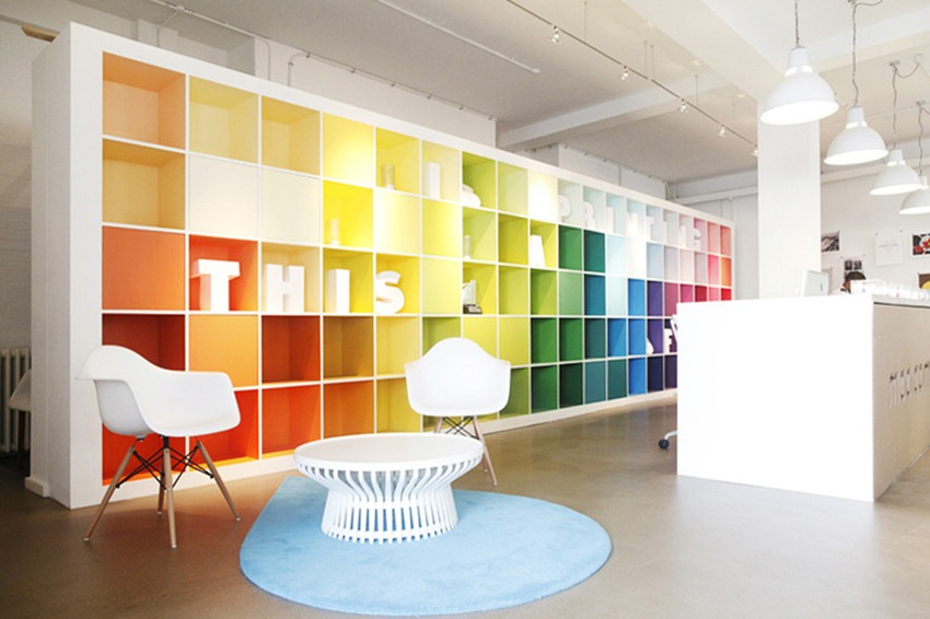 10 playful work spaces that reinvent the office space for Office design group inc