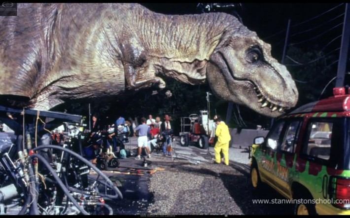 Via gizmodo how jurassic park changed the way movies are made forever tal group inc - Film de dinosaure jurassic park ...