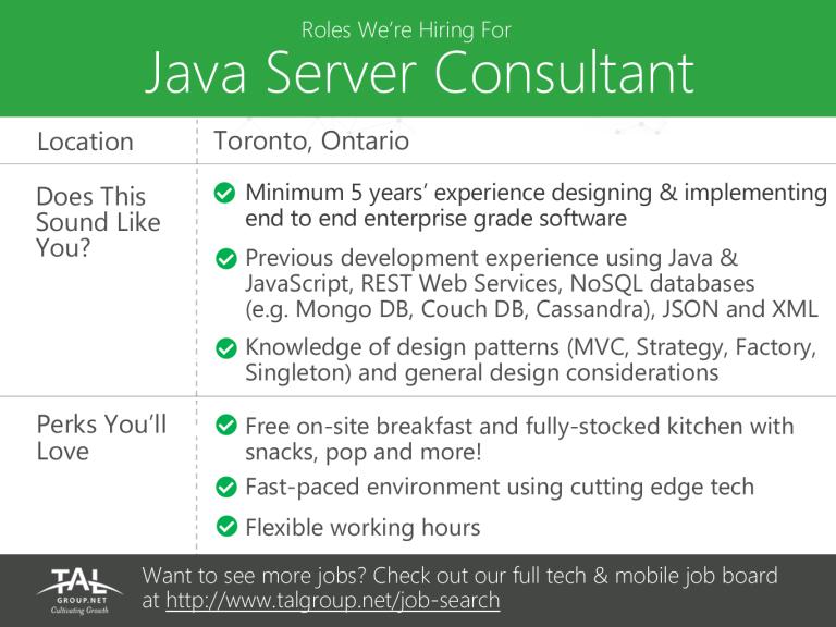 JavaServerConsultant_July29